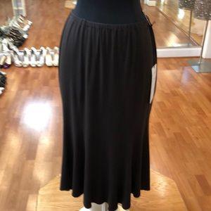 Women's casual skirt, chocolate brown